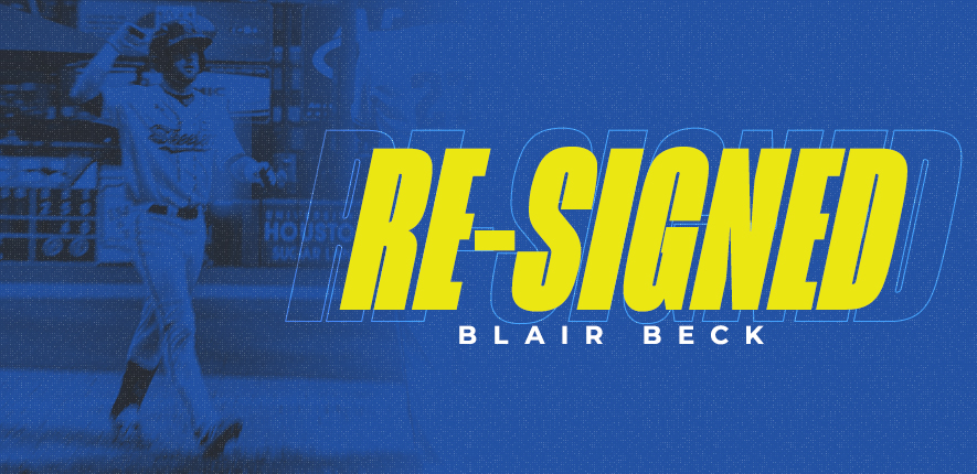 Skeeters Re-Sign Utility Man Blair Beck
