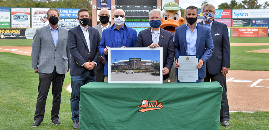Fairfield Properties Lands Naming Rights For Ducks Ballpark