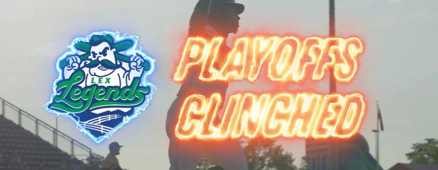 Lexington Legends Clinch Spot for Atlantic League Playoffs