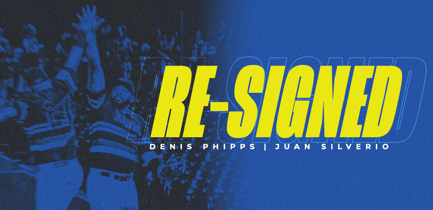Skeeters Sign OF Denis Phipps and IF Juan Silverio