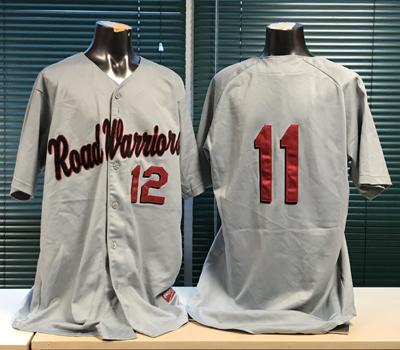 Atlantic League Professional Baseball: Road Warriors Jerseys