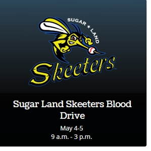 Skeeters To Hold Blood Drives on May 4 and 5