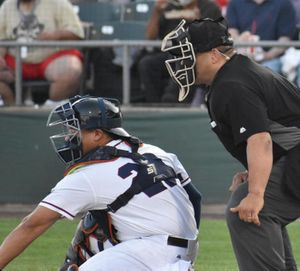 Island Minor League Umpire Takes Part in...
